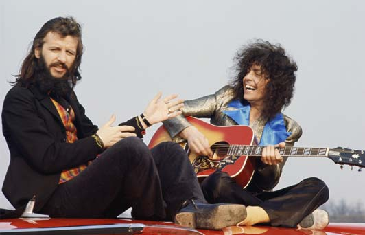 Marc Bolan And Ringo Starr Born To Boogie On Location 1972