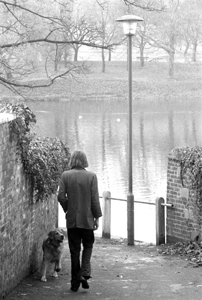 Nick Drake, December 1971 Hampstead Heath, London